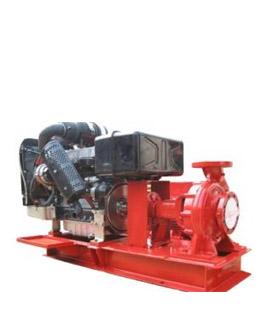 Máy bơm chữa cháy Ebara động cơ diesel